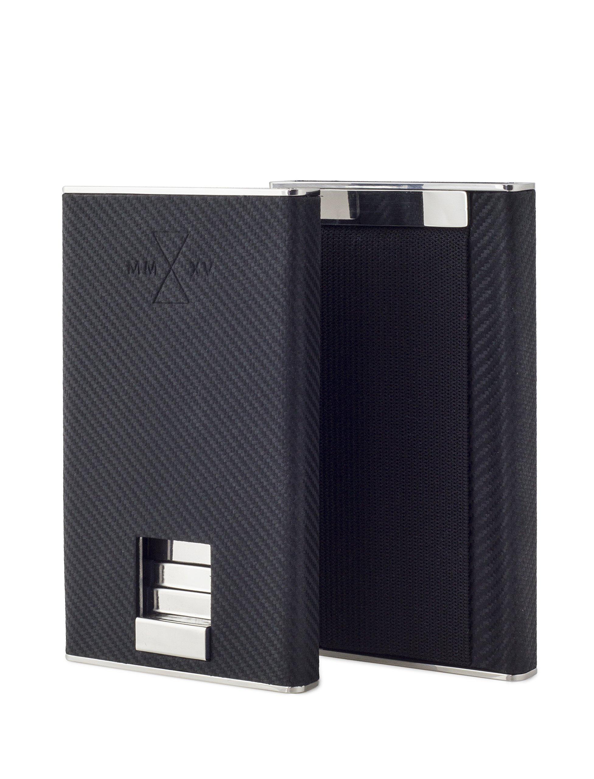 CARBON EVO MINIMAL WALLET (Mach Carbon Leather)
