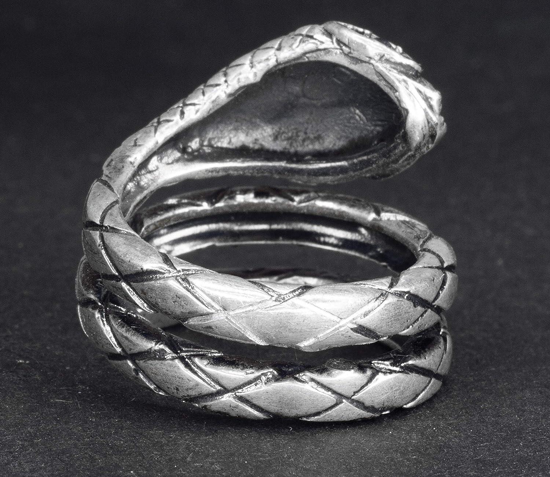 Falcon Jewelry 925 Sterling Silver Men Ring Women Ring Animal Ring Snake Ring