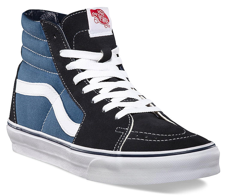 Navy White Vans SK8-Hi Classic Unisex-Adults Hi Top Lace-up Sneaker