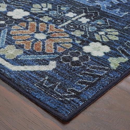 Mohawk Home Cambridge Denim Area Rug, 5 x8 ,