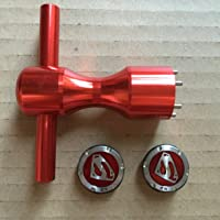 2 x 25 g Golf Superman Rouge Poids + outil pour Scotty Cameron califonia Studio Select Golo My Girl Kombi
