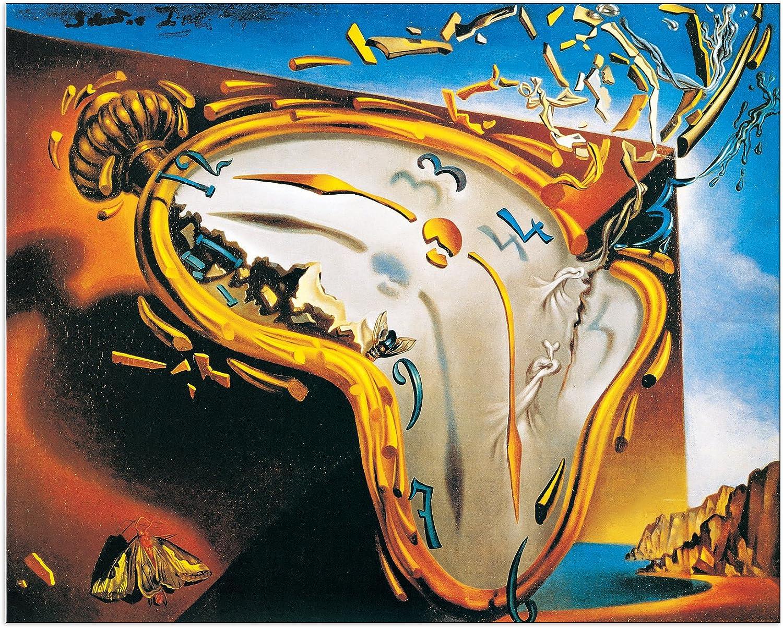 Artopweb Pannelli Decorativi Dalì Die Weiche 1937 Quadro, Legno,  Multicolore, 75x1.8x60 cm: Amazon.it: Casa e cucina