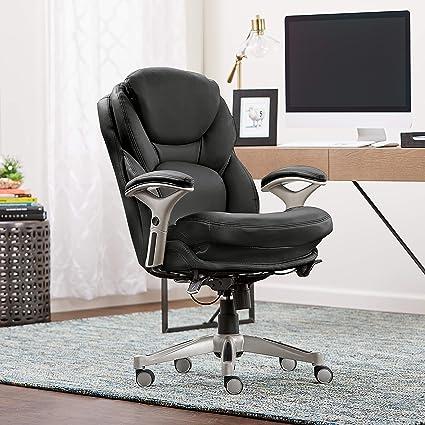 Amazon Com Serta Works Ergonomic Executive Office Chair With Back