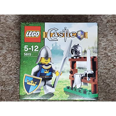 Lego Castle Exclusive Mini Figure #5615 The Knight: Toys & Games