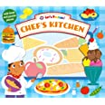 Let's Pretend Chef's Kitchen: With Book and Puzzle Pieces
