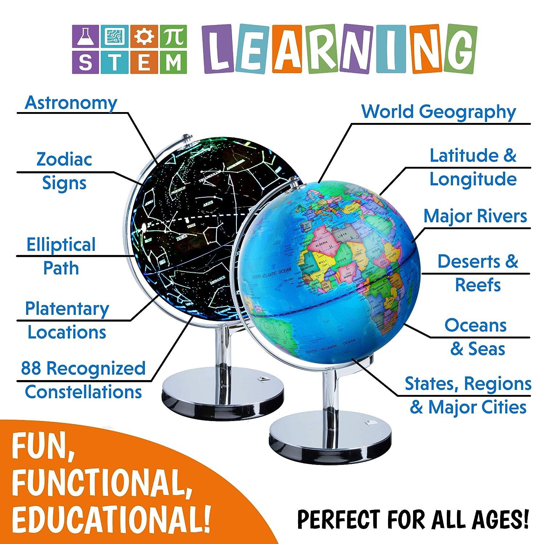 Cheap USA Toyz Illuminated Constellation World Globe For ...