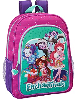 Safta Mochila Escolar Niños Enchantimals Oficial 330x140x420mm