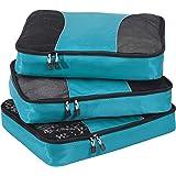 eBags Classic Large 3pc Packing Cubes (Aquamarine)