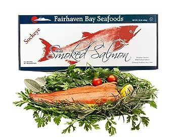 Fairhaven Bay Seafoods Sockeye Alaska Smoked Salmon