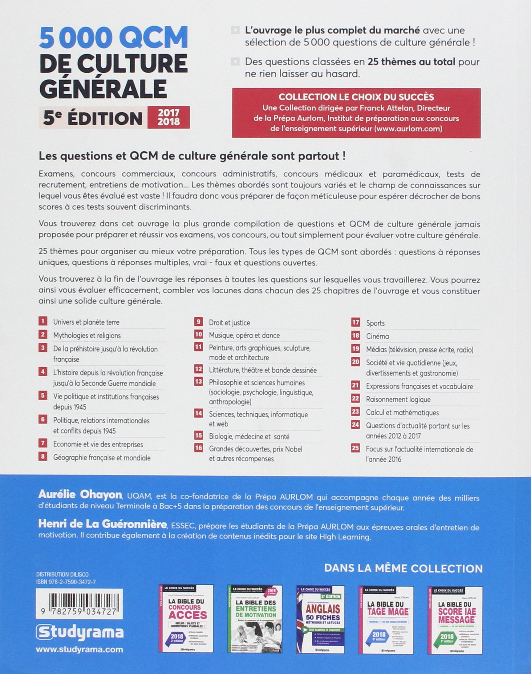Culture générale web et informatique