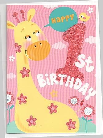 Geburtstagskarte 1 jahr madchen