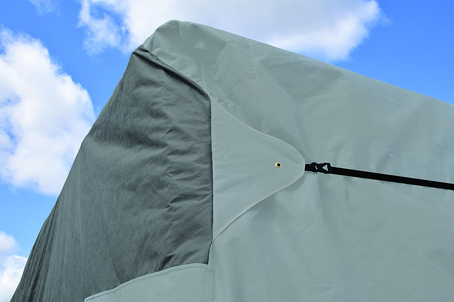 Gray Covercraft Wolf CY31041 Travel Trailer RV Cover 201-22