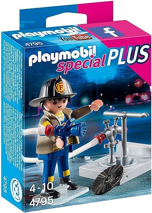 3 opinioni per Playmobil SpecialPlus Fireman with Hose- building figures (Playmobil,
