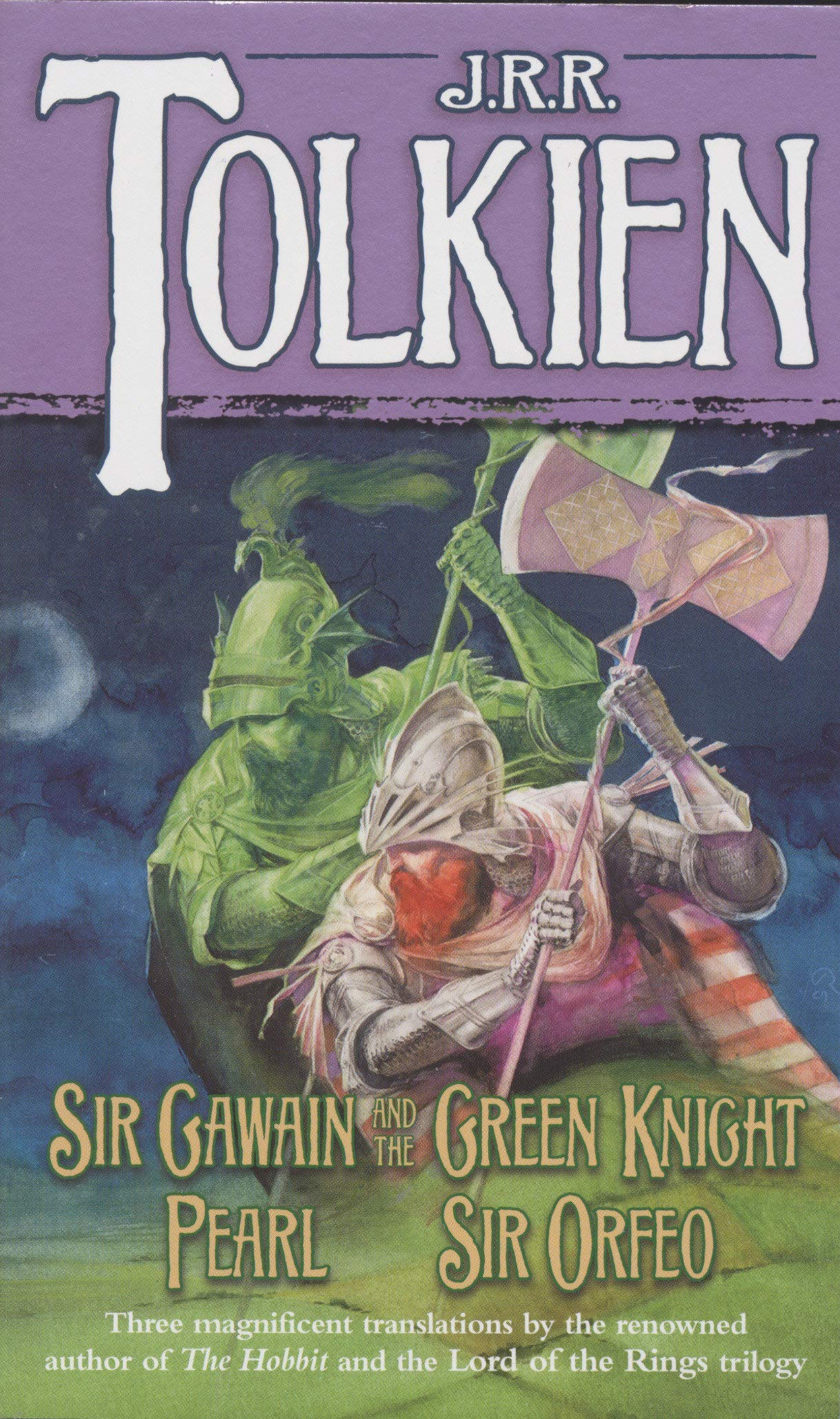 Sir gawain and the green knight pearl and sir orfeo jrr sir gawain and the green knight pearl and sir orfeo jrr tolkien 9780345277602 amazon books fandeluxe Images