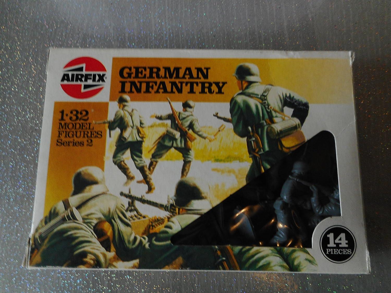 Airfix 51551 Maßstab 1 32 deutsche Infanterie Figuren Serie 2 Vintage 70er Jahre B07CVXF276 Actionfiguren Schön | Um Eine Hohe Bewunderung Gewinnen Und Ist Weit Verbreitet Trusted In-und