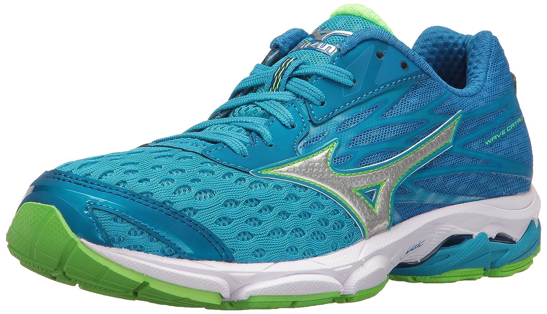 Mizuno Women's Wave Catalyst 2 Running Shoe B01H3EFTVK 6 B(M) US|Diva Blue/Green Flash
