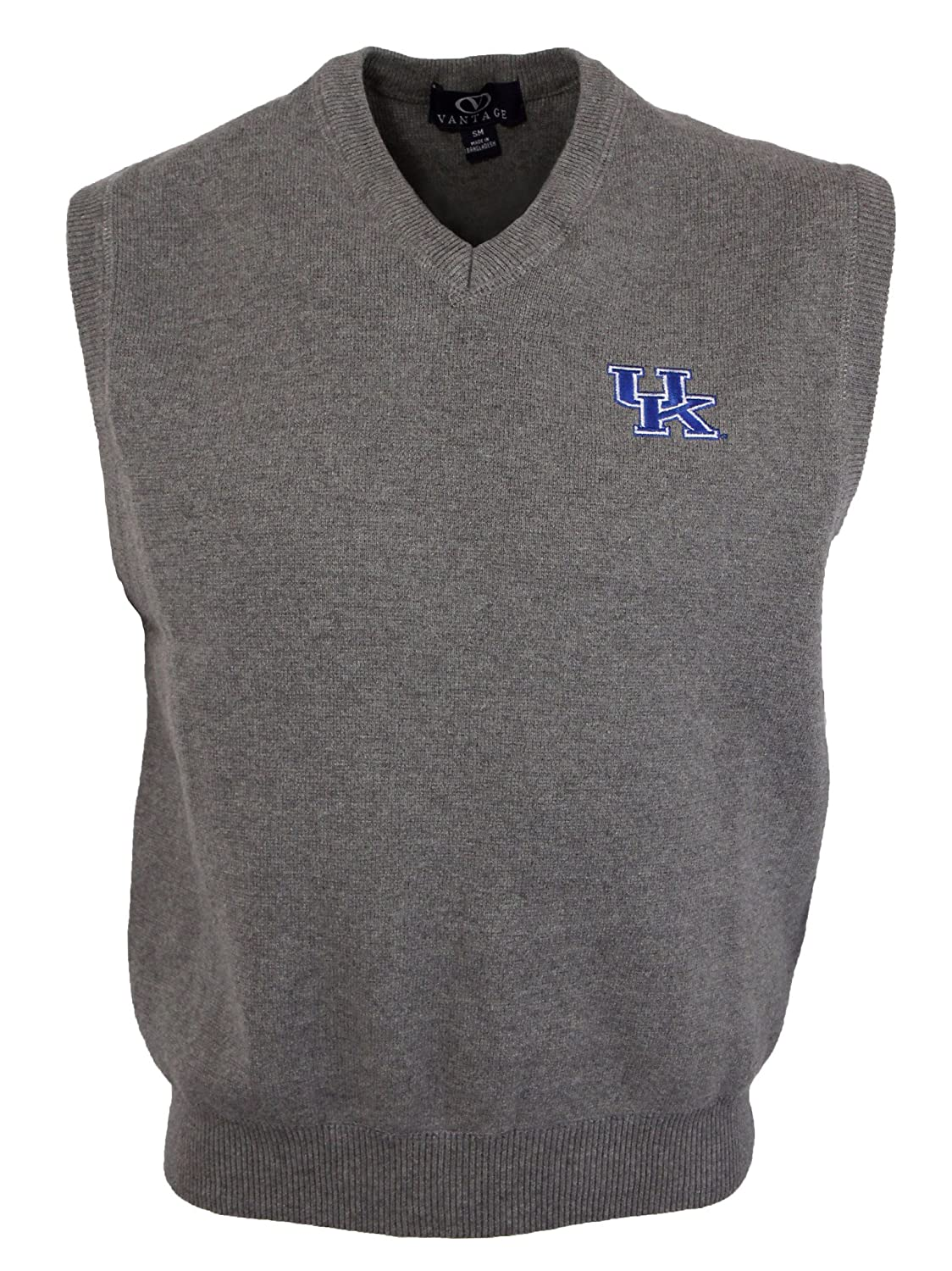 Amazon.com : Men's University of Kentucky Milano Knit Sweater Vest ...
