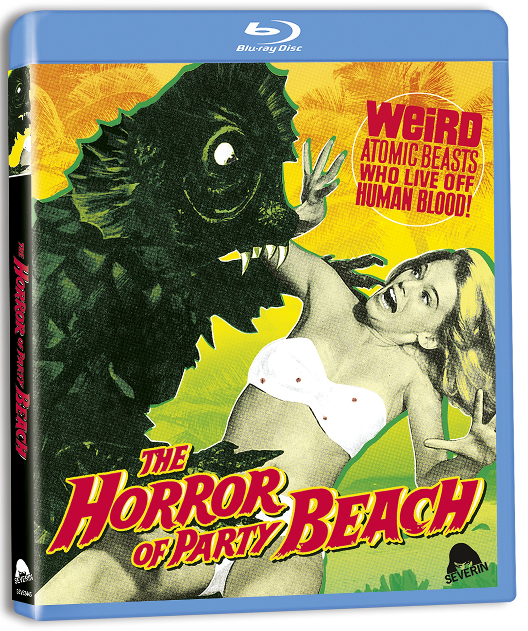 Blu-ray : The Horror Of Party Beach (Widescreen)