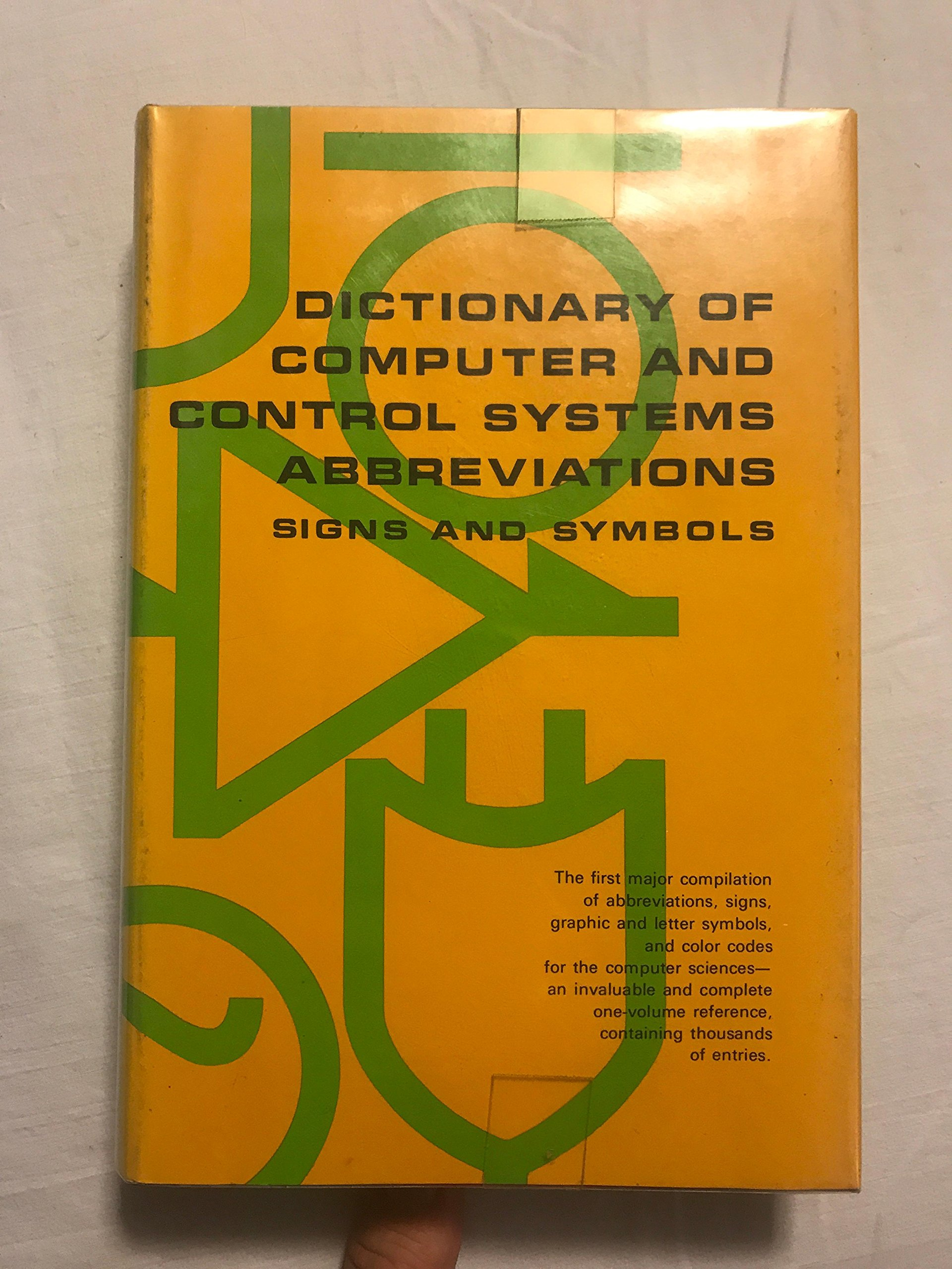Dictionary Of Computer And Control Systems Abbreviations Signs And