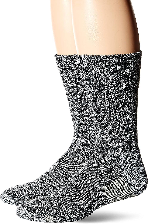 Dr Scholls Men's American Lifestyle Collection BlisterGuard Crew Socks 2 Pair