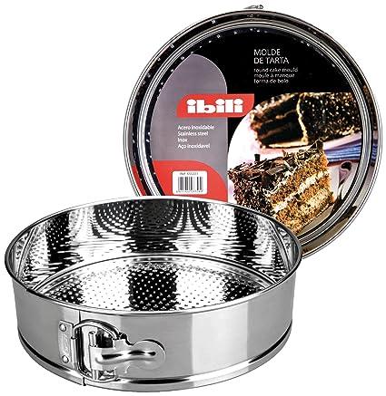 IBILI 650226 - Molde Desmontable INOX. 26 Cms