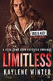 LIMITLESS: A Less Than Zero Rockstar Romance: Book 2: Jace & Alex