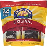 Pacific Gold Original Beef Jerky 12 - 1.25oz bags