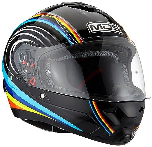 AGV Helmets Fullsun MDS E2205, color Verde (Python), talla L: Amazon.es: Coche y moto