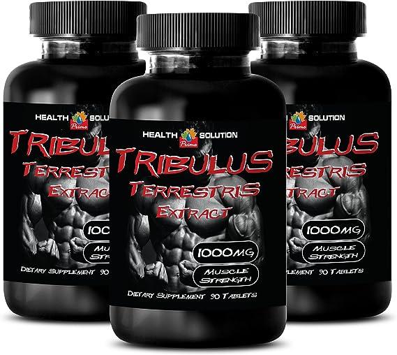 Amazon.com: Bodybuilding tribulus - Tribulus Terrestris Extract 1000mg Muscle Strength - Natural