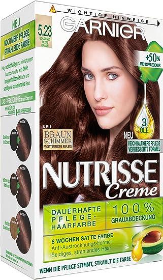 Garnier Nutrisse crema Coloración Golden Rose Brown 5.23 ...