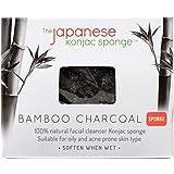 The Japanese Konjac Sponge, Bamboo Charcoal Sponge