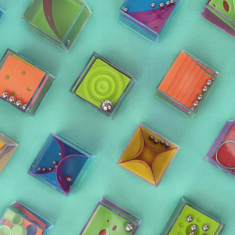 Juego Habilidad Educativo Infantil para Ni/ños KING JUGUETES Cubo Laberinto 3D Cubo M/ágico Pasatiempos Rompecabezas Circuito Equilibrio Motricidad L/ógica