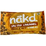 Nakd. Fruit and Nut Nibbles Salted Caramel 40 g (Pack of 9)