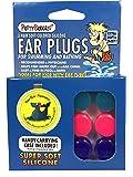 Putty Buddies PUTTY BUDDIES Original Swimming Earplugs 3-Pair Pack (Purple/Teal/Magenta), Purple/Teal/Magenta