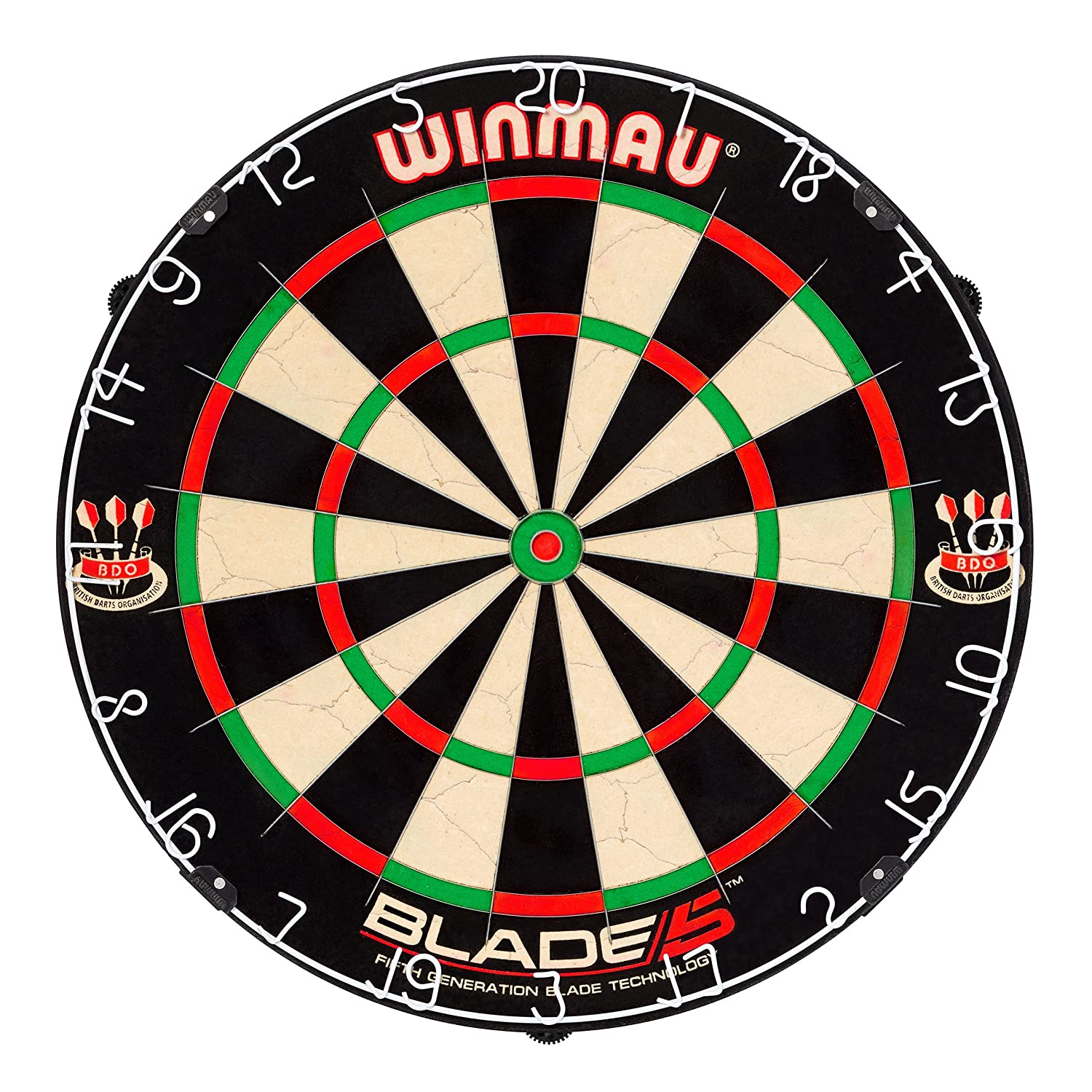 The Blade-4 Bristle Winmau Best Dart Board