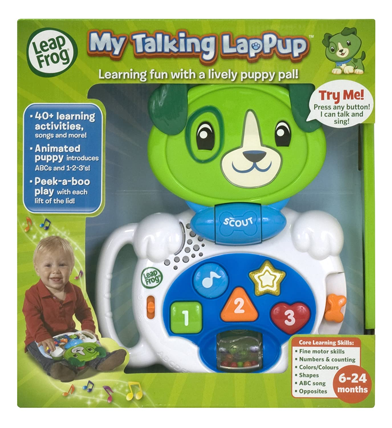LeapFrog My Talking LapPup Scout Amazon Toys & Games