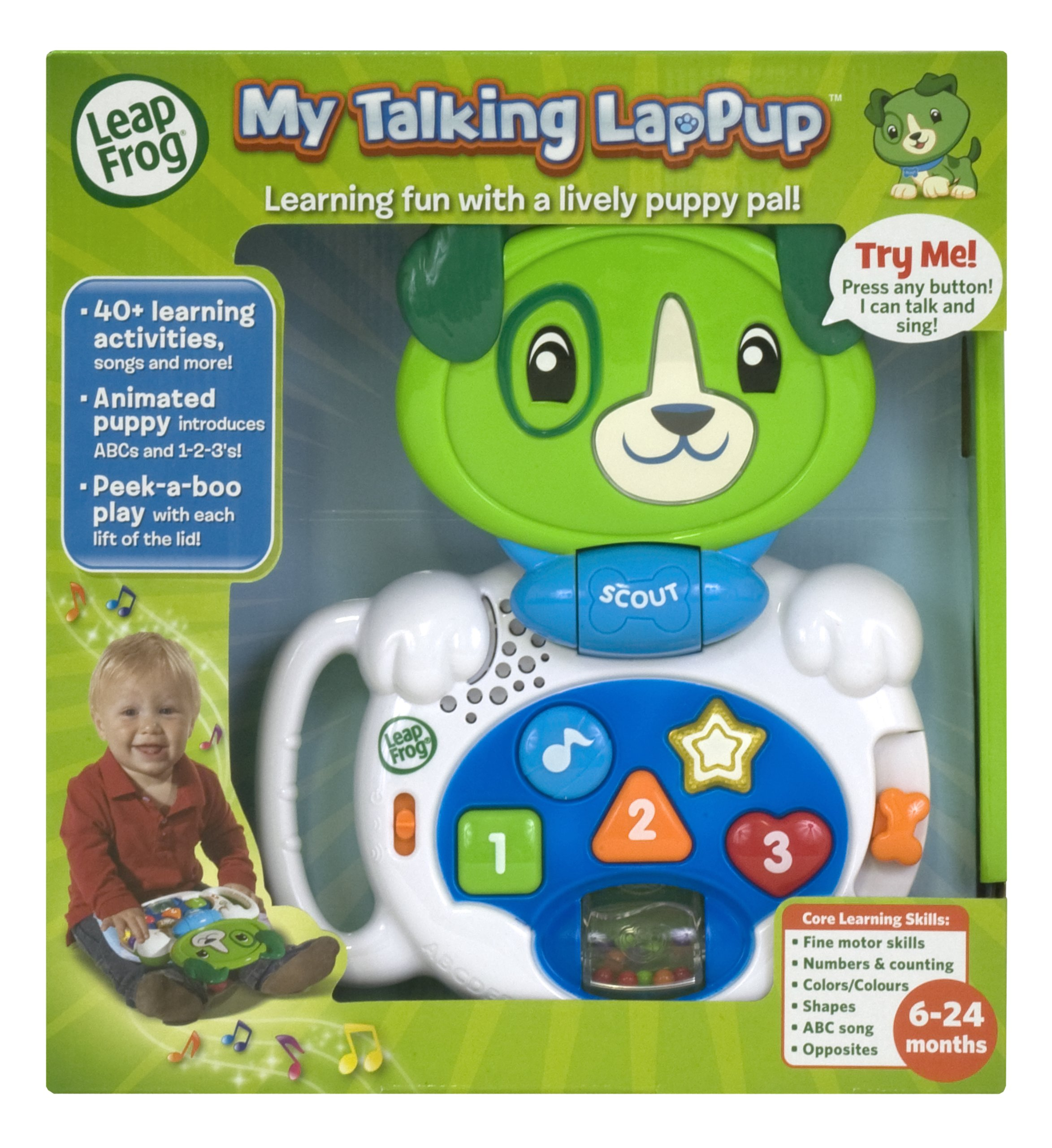 New LeapFrog Talking LapPup Scout, Educational Learning ...