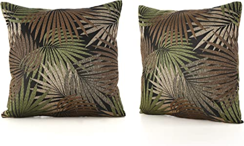 Christopher Knight Home Coronado Outdoor Square Water Resistant Pillows