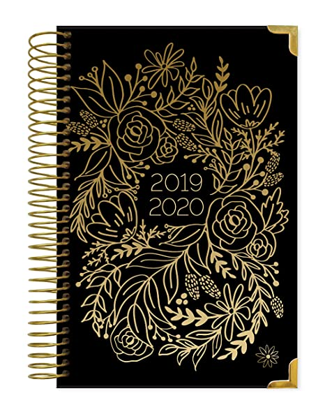 HARDCOVER bloom daily planners 2019-2020 Academic Year Day Planner - Passion/Goal Organizer - Monthly & Weekly Dated Calendar Agenda Book - (August ...