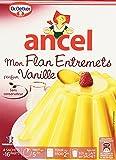 Ancel Mon Flan Entremets parfum Vanille 4 sachets pour 16 parts - 180 g