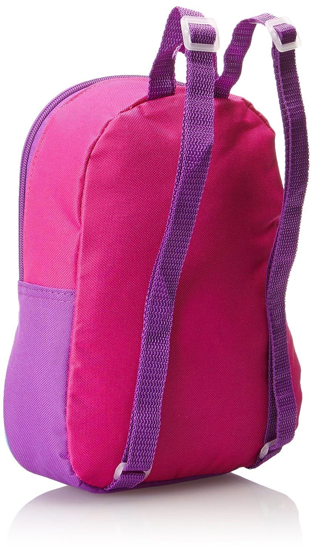 One Size Fast Forward Children/'s Apparel FCCM02ZA Disney Little Girls Anna and Elsa Mini Backpack Pink