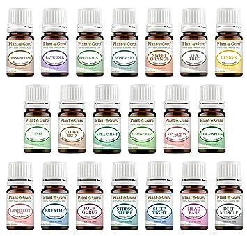 Amazon Com Essential Oil Set 20 5 Ml 100 Pure Therapeutic Grade