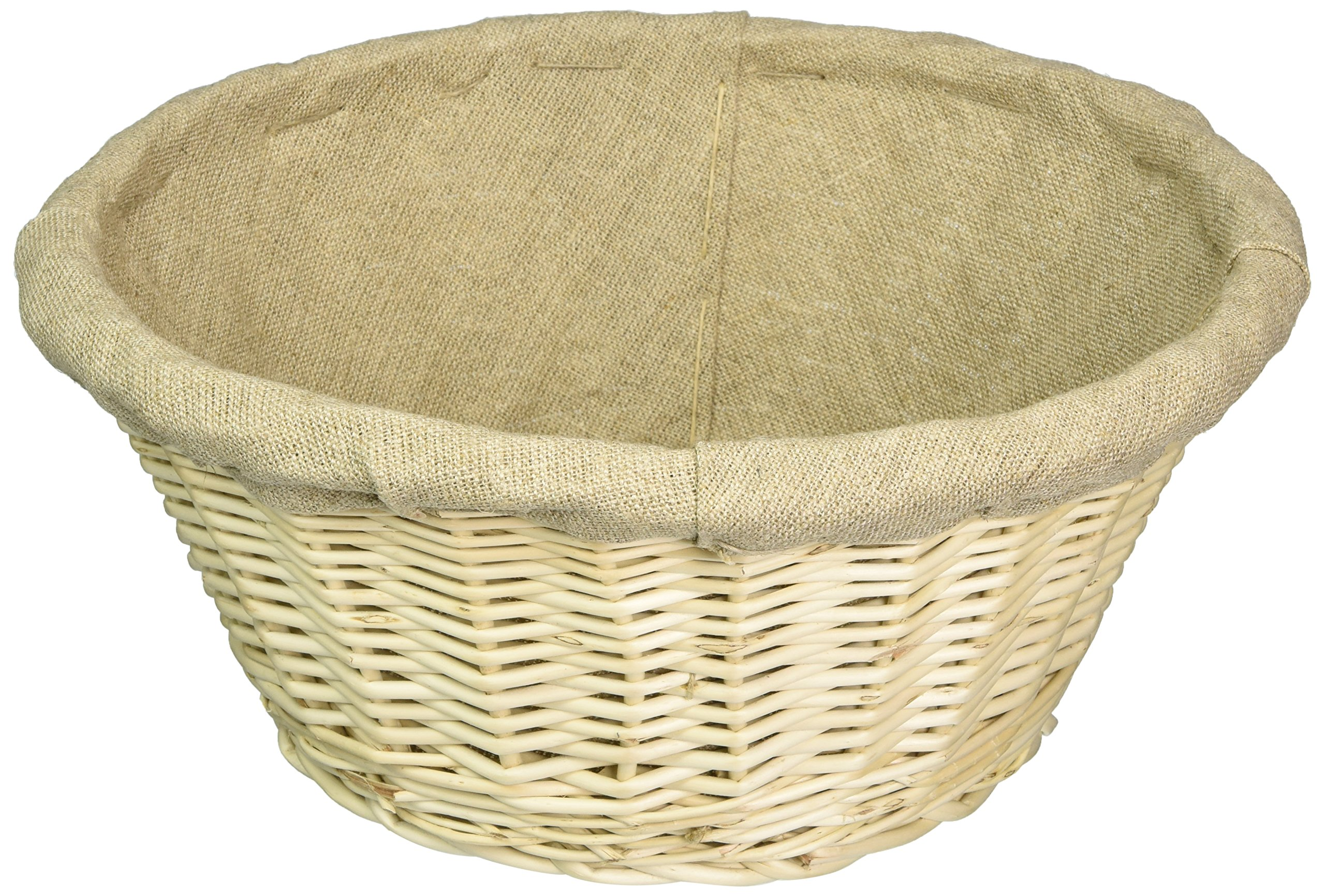 Matfer 11 1/2 Inch Banneton Line Lined Basket