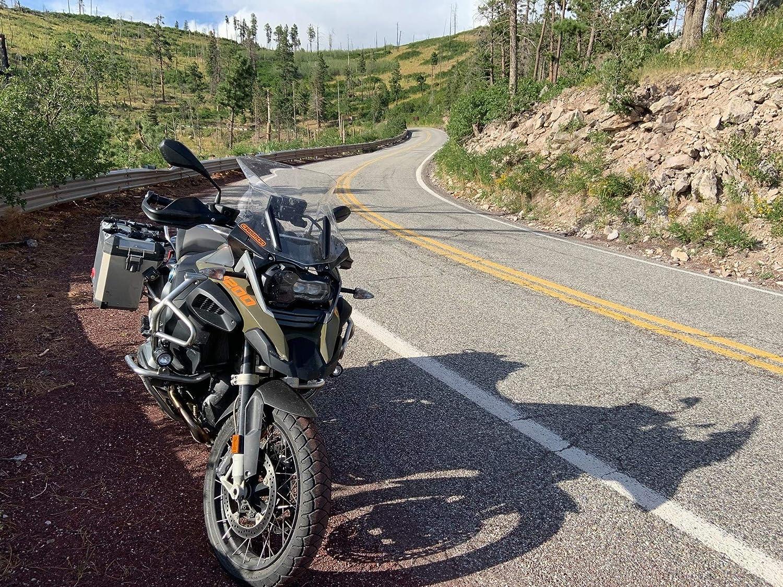 Estensione del Coperchio di Estensione del Cono del Naso ETbotu Parafango Anteriore per Motocicletta per BMW R1200GS LC R1250GS