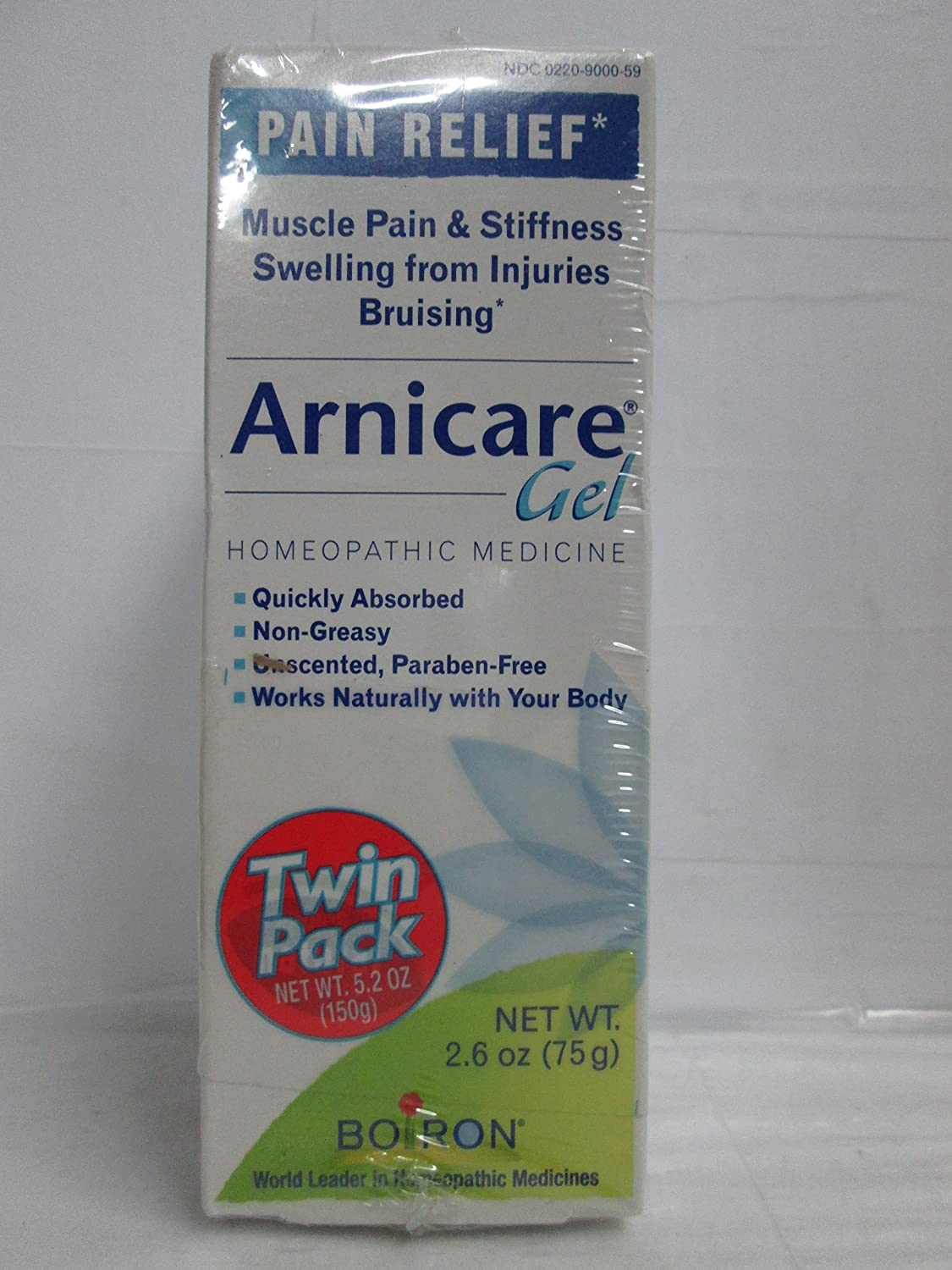 Boiron Arnicare Gel Twin Pack — 2.6 oz Each Pack of 2