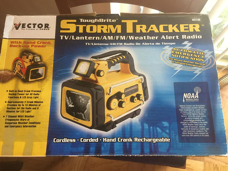 Vector VEC135 / VEC-135 / VEC-135 TV/Am/FM Rígida Brite Storm Tracker: Amazon.es: Electrónica