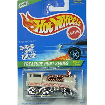 hot wheels treasure hunt series rail rodder 12 of 12 589 1996: Toys & Games