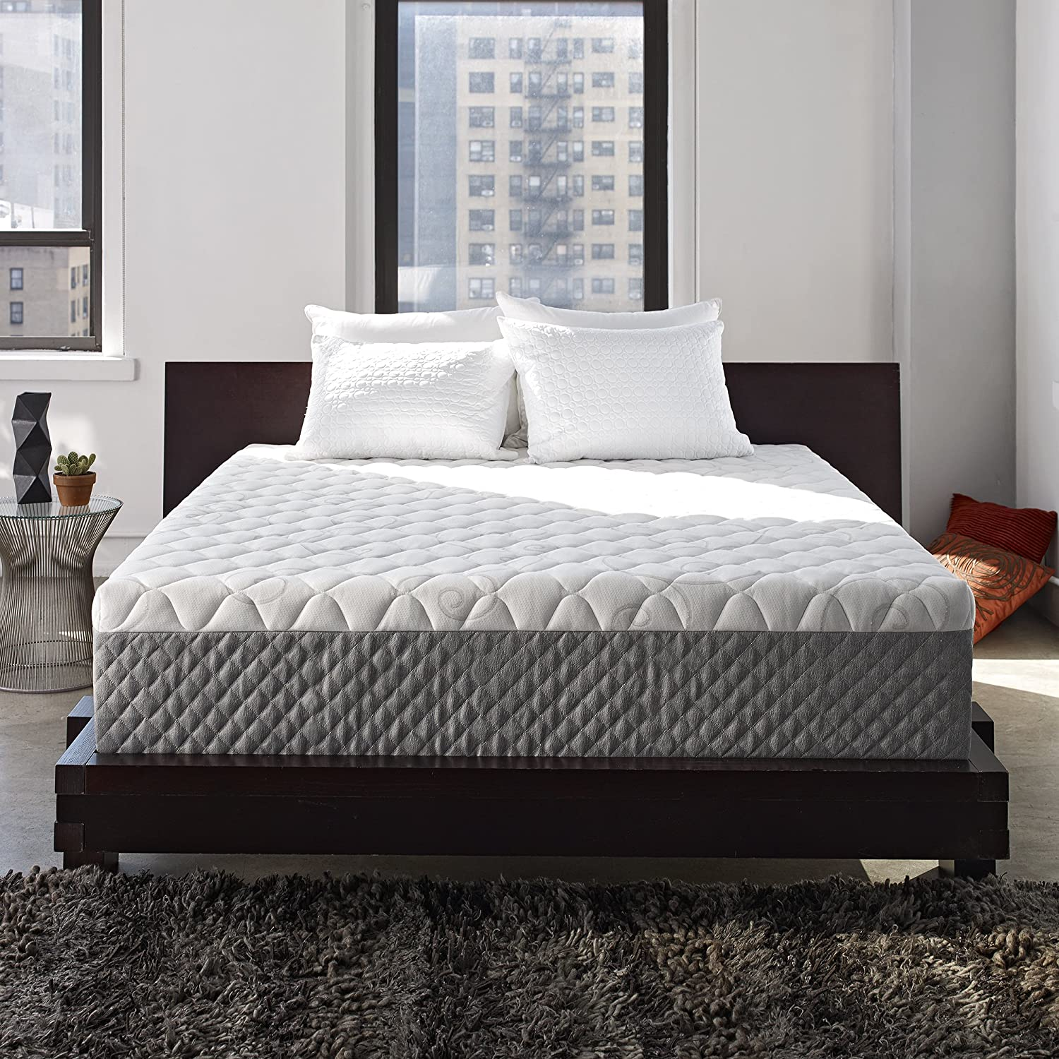 "Sleep-Innovations Alden 14"" Queen Mattress"