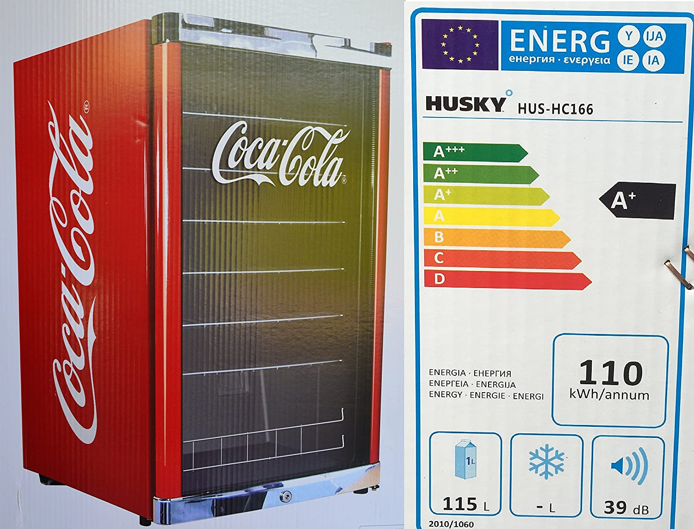 Husky Hus de HC 166 HIGHCUBE Botella Frigorífico Coca-Cola/A +/83 ...