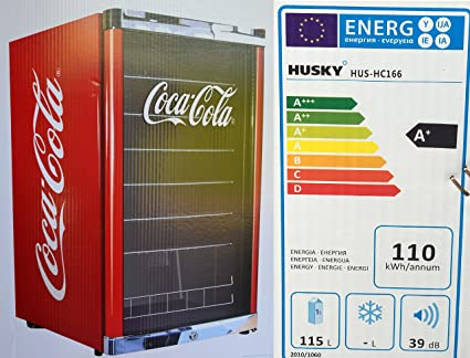 Kühlschrank Coca Cola Husky : Husky hus hc highcube flaschenkühlschrank coca cola a